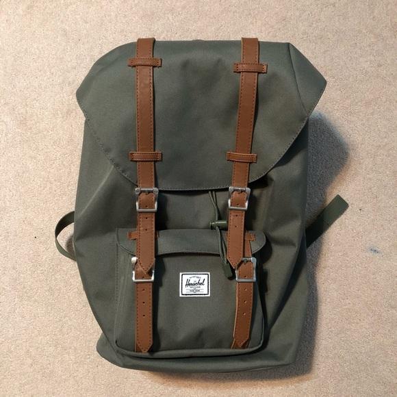 2510492293f2 Herschel Supply Company Handbags - Olive Green Herschel Supply Co. Backpack
